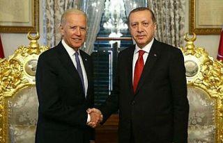 Erdoğan ve Biden arasında ilk telefon görüşmesi