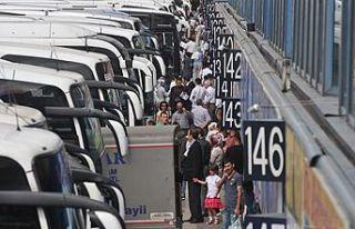 Otobüs biletleri tükendi, sektör yüzde 50 zam...