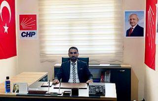 CHP Şemdinli İlçe Başkanı Karakoç'un bayram...