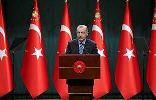 Erdoğan: Esnafa bir kereye mahsus maddi destek sağlayacağız