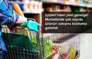 İçişleri'nden marketlere 'zorunlu temel...