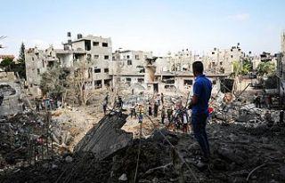'İsrail saldırıları sonucu 145 Filistinli...