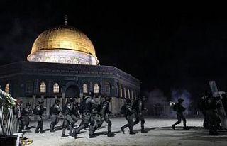 İsrailli milliyetçilerin yürüyüşü öncesi Kudüs'te...