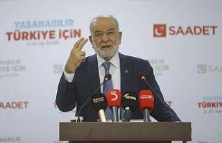 Karamollaoğlu: Erdoğan 'bir selamın aleyküm...