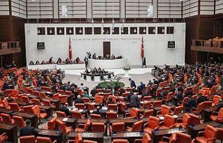 TBMM Genel Kurulunda CHP, HDP ve İYİ Parti'nin...