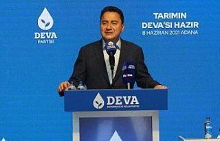 Babacan Adana'da: 56 maddelik Tarım Eylem Planı...