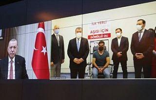 Erdoğan, yerli korona aşısının adını koydu:...
