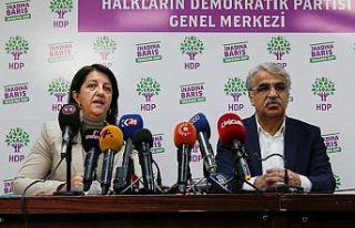 HDP'li Tiryaki: Eş genel başkanların telefon...