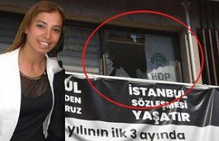 HDP'nin İzmir il binasına saldırı sonrası...