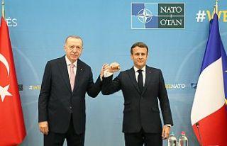 NATO Liderler Zirvesi kapsamında Erdoğan'ın...