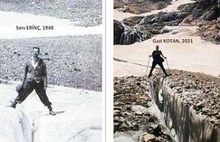 Cilo'daki buzullar eriyor: 4 kilometreden 900...