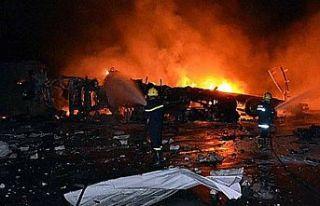 Irak'ta hastane yangınında ölenlerin sayısı...