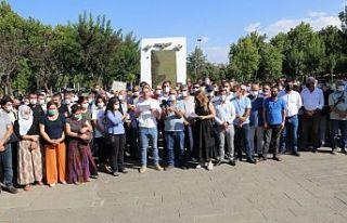 Irkçı saldırı Diyarbakır'da protesto edildi:...