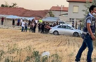 Konya'da bir eve düzenlenen silahlı saldırıda...
