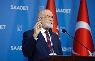 Saadet Partisi'nden 'Temel Karamollaoğlu...