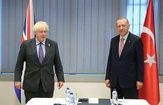 Cumhurbaşkanı Erdoğan, Boris Johnson ve Charles...