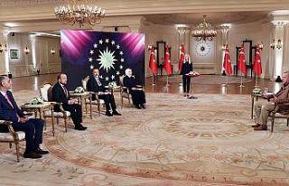 Erdoğan: Taliban'ın itidalli ve ılımlı açıklamalarını...