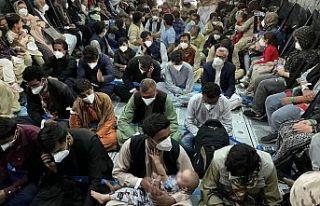Hollanda'da Afgan sığınmacılara karşı protesto...