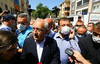 Kılıçdaroğlu: Dere kenarlarında yapılaşmaya...