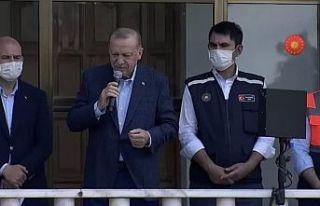 Üç il afet bölgesi ilan edildi, Erdoğan, 'bir...