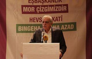 Ahmet Türk: Muhatap Kürt halkı ve tüm aktörleridir