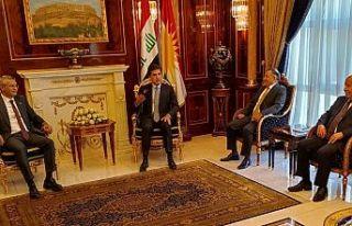CHP heyeti Barzani'ye Ortadoğu iş birliği...