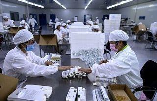 Çin'de aşı yapılan kişi sayısı 1 milyarı...