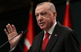 Erdoğan: Afetler için düzenlenen yardım kampanyasında...