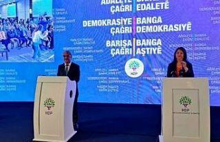 HDP'nin deklarasyonu açıklandı: Silah yerine...