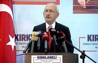 Kılıçdaroğlu: Sığınmacıları göndereceğiz,...