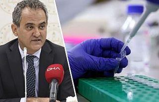Milli Eğitim Bakanlığı PCR testinde kapsamı genişletti