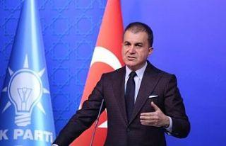 Ömer Çelik: Türkiye'nin tek bir mülteci daha...