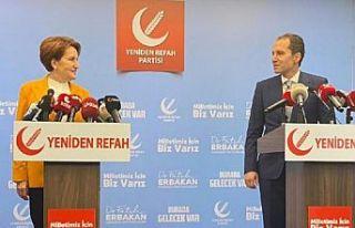Akşener'den Erbakan'a ziyaret: Görüş...