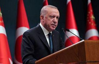 Erdoğan: İklim ve göç konusunda başkanlıklar...