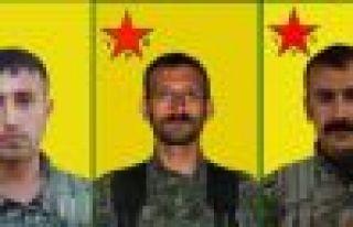 3 YPG savaşçısının kimliği açıklandı