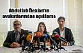 Abdullah Öcalan'ın avukatlarından açıklama