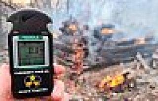 Alevler Çernobil'e 1 kilometre yaklaştı