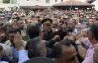 Alkan'ın cenaze törenindeki 2 kişi Erdoğan'a hakaretten...