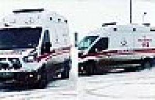 Ambulansla drift atan Şemdinlili sürücüye soruşturma...