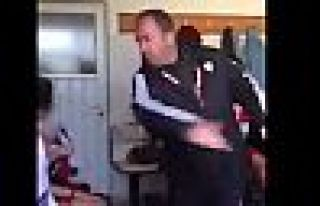 Antrenör genç futbolcuları dövdü, sosyal medyada...