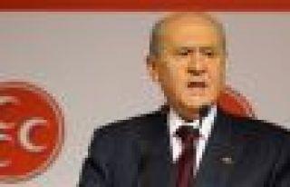 Bahçeli, Kılıçdaroğlu'na 'hayır', AKP'ye 'şartlı...