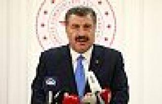 Bakan Koca, Türkiye'de ilk 'koronavirüs' vakasını...