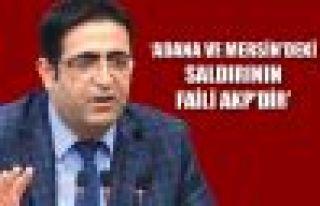Baluken: Adana ve Mersin'deki saldırının faili...