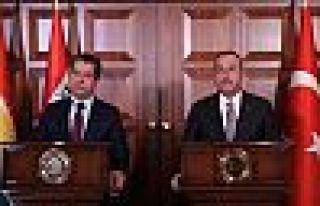Barzani: Kimsenin farklı bölgelere zorla gönderilmeyeceğini...
