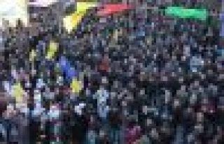 BDP Ağrı'da zaferini kutluyor