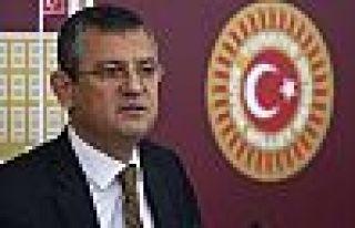 CHP'li Özel: Okulların açılması kararı gözden...