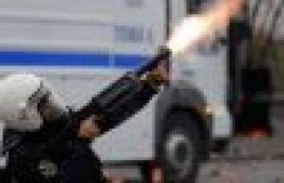 Cizre'de gaz bombasıyla bir çocuk yaralandı