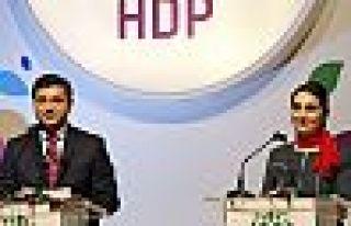 Demirtaş ve Yüksekdağ HDP kongresine mesaj gönderdi