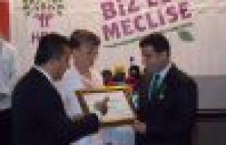 Demirtaş'a Uluslararası Barış Ödülü