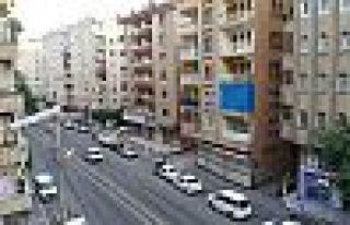 Diyarbakır'da 7 katlı bina karantinada